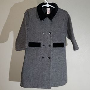 Vintage Gymboree Girl's Wool Holiday Dress Jacket
